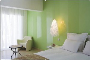 Foto: http://www.pintomicasa.com/2012/06/combinar-pinturas-de-distinto-brillo.html